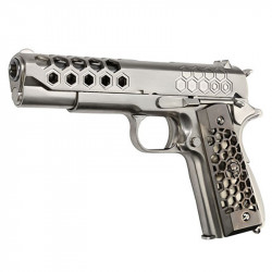 WE 1911 GEN 2 Hex cut GBB full metal Stainless -