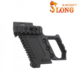SLONG AIRSOFT Kit G-Kriss XI for Glock / Hi-capa - BK