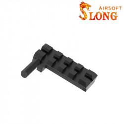 SLONG AIRSOFT Rail pour culasse Glock TM 4 slots -