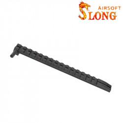 SLONG AIRSOFT Rail pour culasse Glock TM 15 slots