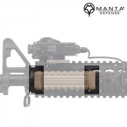 Manta Defense Capuchons d'extrémité (2 pack) - DE -
