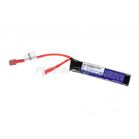 Pirate Arms batterie LIPO 11.1V 1100Mah 20C (dean) -