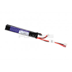 Pirate Arms 7.4v 1300mah 20C lipo battery twin type (dean) -