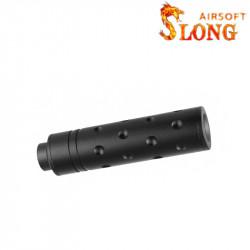 SLONG AIRSOFT Silencieux 14mm CCW Short AERO -