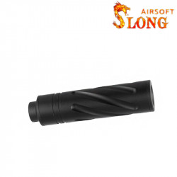 SLONG AIRSOFT Silencier 14mm CCW SPIN -
