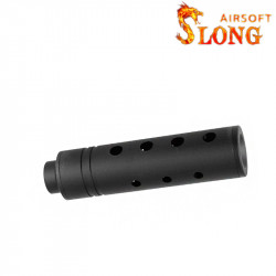 SLONG AIRSOFT Silencier 14mm CCW APERTURE -