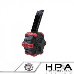 P6 AW custom chargeur gaz 350 billes pour M9 HPA -