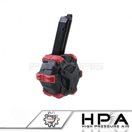 P6 AW custom chargeur 350 billes pour Glock 17 HPA -