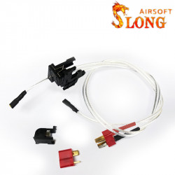 SLONG AIRSOFT SWICH for version 2 gearbox (T-plug)