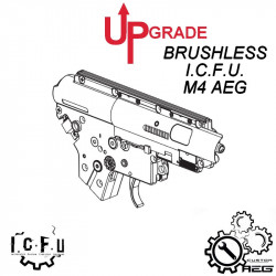 Upgrade Pack Brushless ICFU for M4 / HK416 AEG -