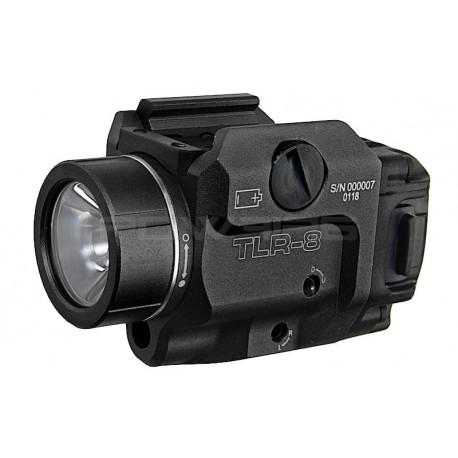 Blackcat TLR-8 style Tactical Flashlight & laser - Black -