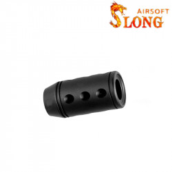 Slong airsoft Cache Flamme suppressor caliber - BK -