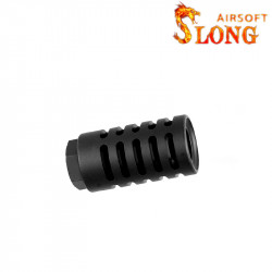 Slong airsoft suppressor caliber Flash hider RT - BK
