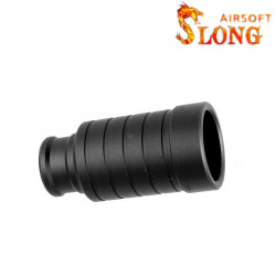 Slong airsoft suppressor - BK -