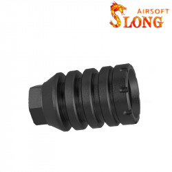 Slong airsoft suppressor RT - BK -