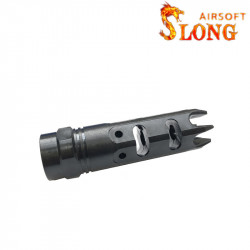 Slong airsoft Flash hider window breeze - BK