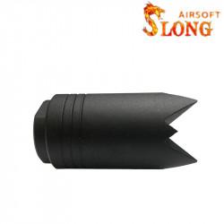 Slong airsoft Cache Flamme Brise vitre Type A - BK
