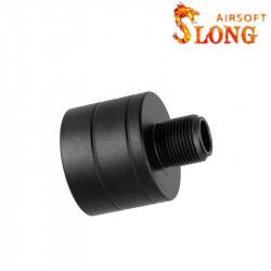 Slong airsoft Adaptateur silencieux pour MP9 KSC -