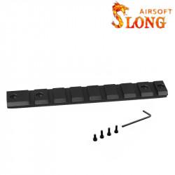 SLONG AIRSOFT Rail Picatinny pour VSR-10 -