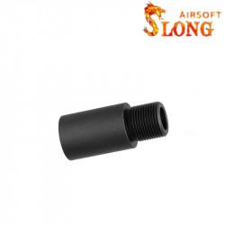 Slong rallonge outer barrel 26mm pour AEG (14mm négatif) -