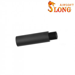 SLONG AIRSOFT 57mm Outer Barrel Extension for AEG -