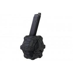 AW custom 350rds gaz Magazine for Glock 17 GBB - Black -