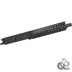 P6 MK18 DD9.5 upper receiver assembly for M4 AEG - Black -