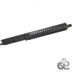 P6 MK18 DD12 upper receiver assembly for M4 AEG - Black -