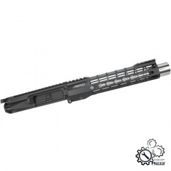 P6 S-ONE 9inch upper receiver assembly for M4 AEG - Black -