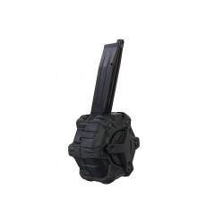 Armorer Works AW custom chargeur gaz 350 billes noir pour HI-CAPA -