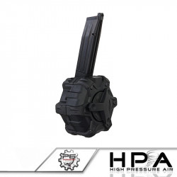 P6 350rds Magazine black for HI-CAPA HPA