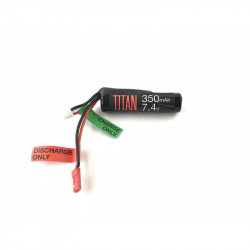 TITAN POWER Batterie Lithium Ion 7.4V 350MAH JST HPA