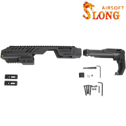 SLONG AIRSOFT conversion Kit MPG + G-KRISS XI -