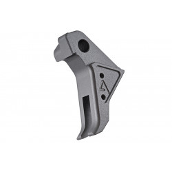Agency Arms Airsoft CNC grey Trigger for TM Glock 17 GBB -
