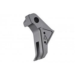 Agency Arms Airsoft détente CNC grise pour Glock 17 TM GBB -