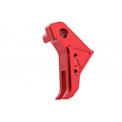 Agency Arms Airsoft CNC red Trigger for TM Glock 17 GBB -