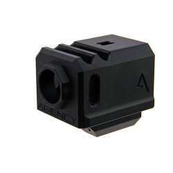 Agency Arms Airsoft 417 Compensator (14mm CCW) - Black -