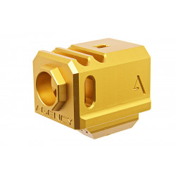 Agency Arms Airsoft 417 Compensator (14mm CCW) - Gold -