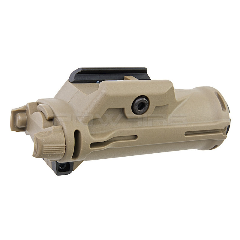 Blackcat Airsoft HX15 Tactical Flashlight Tan