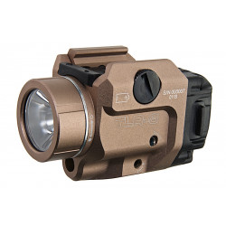 Blackcat TLR-8 style Tactical Flashlight & laser - Tan -