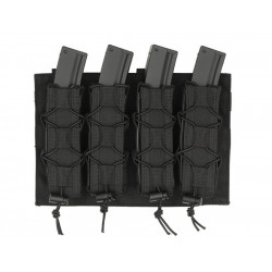 8FIELDS pouch molle NOIR 4 chargeurs MP5 MP7 MP9 & Kriss vector -