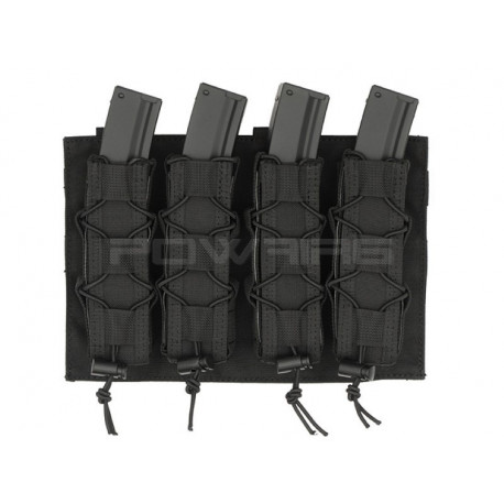 8FIELDS quad molle pouch for MP5 MP7 MP9 Kriss vector Magazine Black -