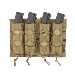 8FIELDS pouch molle pour 4 chargeurs MP5 MP7 MP9 & Kriss vector - Multicam -