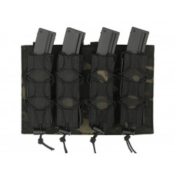 8FIELDS pouch molle pour 4 chargeurs MP5 MP7 MP9 & Kriss vector - Multicam Black -