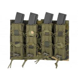 8FIELDS pouch molle pour 4 chargeurs MP5 MP7 MP9 & Kriss vector - Multicam Tropic -