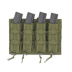 8FIELDS quad molle pouch for MP5 MP7 MP9 & Kriss vector Magazine - OD -