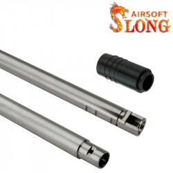 SLONG 6.05mm precision Barrel for AEG / GBB 490mm (include AEG rubber) -
