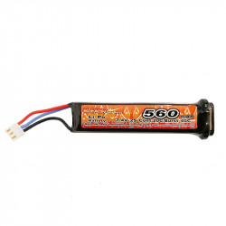 VB Power 7.4v 560mah lipo battery for AEP -