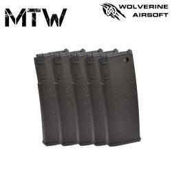 Wolverine pack de 5 chargeurs pour MTW -