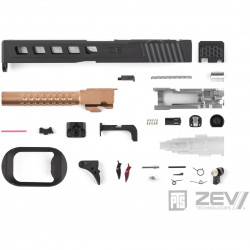PTS ZEV Dragonfly Slide Kit for TM Glock 17 (RMR) - Black -